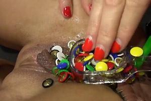Thumbtacks Stuffed In Pussy