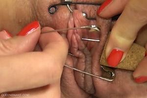 Safety Pin Sealed Pussy