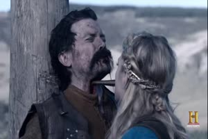 Viking goddess castrates captive
