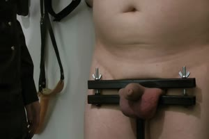 Extreme torture by Blonde Dominatrix