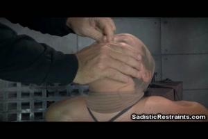 Restrained Teen Brutally Whipped!