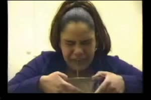 Sick Girls Puking In Bowls