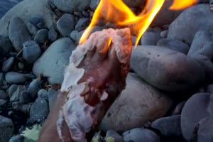 Barefoot Fire Challenge