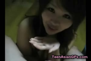 Thai Teen GF Gets Jizzed in Her Mouth