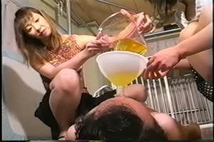 Two Women's piss slave