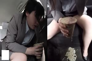 Drunk Girls Puking In a Car