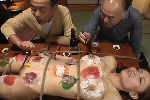Human Sushi Table