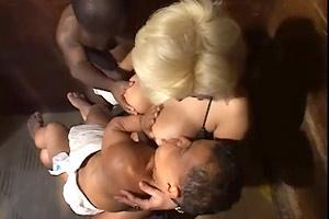 MILF Breastfeeding Midget Babies