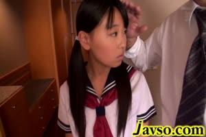 japanese teen schoolgirl fucked in tight pussy