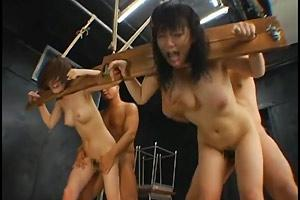 Asian Slaves Restrained Raped And Degraded