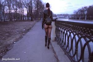 No Panties In Public