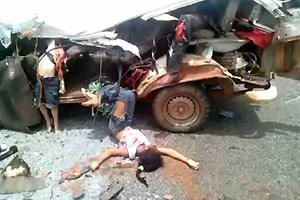 Trafic Accident Aftermath
