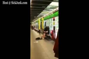 Couple Fucking In Public