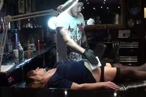 Sissy Slave Tattoo