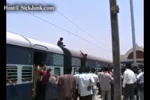 Train Electrocution