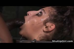 Bound Teen Throat Destruction