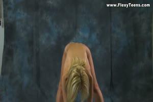 Blonde Sexy Acrobat