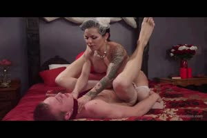 His Sexy Bride is a Tranny Domme!