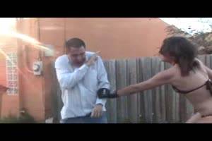 Two Chicks  Brutal Beatdown