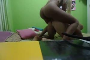 Tranny Samba  & Dominates Slave