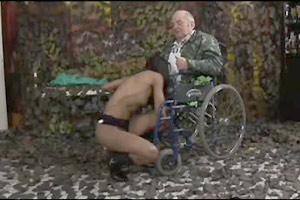 Legless Grandpa Fucking Nurse