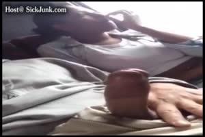Bitch Sucks Off A Dick Flashing Pervert