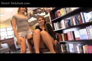 Two Book Loving Teens Getting Caught Fucking