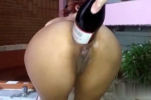 Mature Ass Bottle Fisted