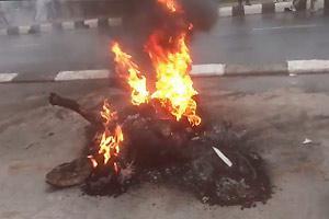Street Justice Immolation