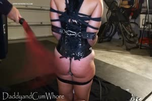 Restrained Slave Tortured