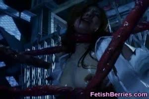 Horror Porn Tentacles Cum On Girl!