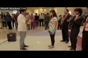 Crazy Women Beats Dude For Trying To Propose