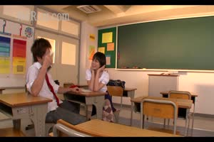 Naughty Asian schoolgirl virgin give her teacher