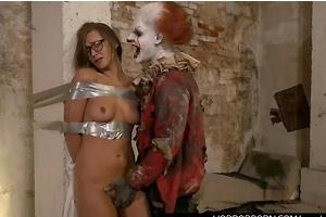 Forced And Abused By Horror Clown
