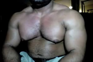 Bodybuilder Chest Milk