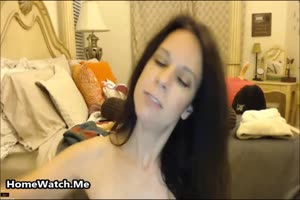Mommy Shoves Her Favorite Toy Deep Inside Her Wet Pussy Only For You