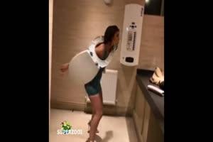 Toilet Seat Hula Hoop