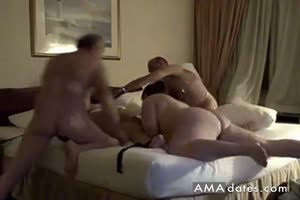 Fat Amateur In Hotelbed