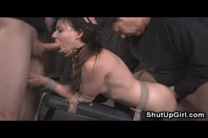 Bound Teen Extreme Rough Sex!