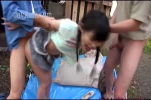 Teen Raped In Back Yard