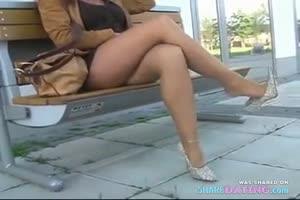 Showing Off Legs In Heels