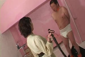 Slave Nipples Burned & Whipped