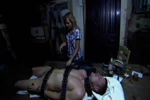She Rapes & Hunts Him