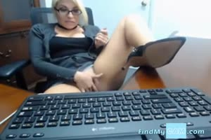 Work Place Masturbation