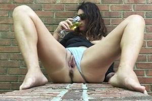 Mature Drinking Own Piss