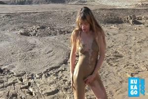 Mud Playing Babe