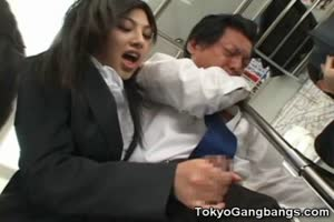 Perverted Japnese Girl In Public!