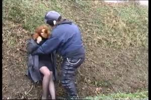 greasy biker kidnaps and rapes bitch