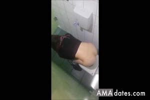 Hidden Cam Toilet 3 Girls - 12