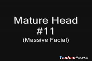 Mature Head #11 (Massive Facial)